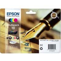 EPSON Cartouche 16 Plume - Noir et tricolore - 14.7ml