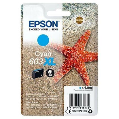 EPSON Cartouche d'encre Singlepack 603XL Ink - Cyan