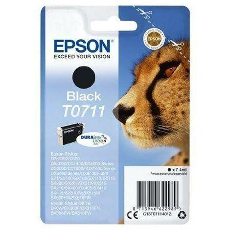 EPSON Cartouche T0711 - Guépard - Noir