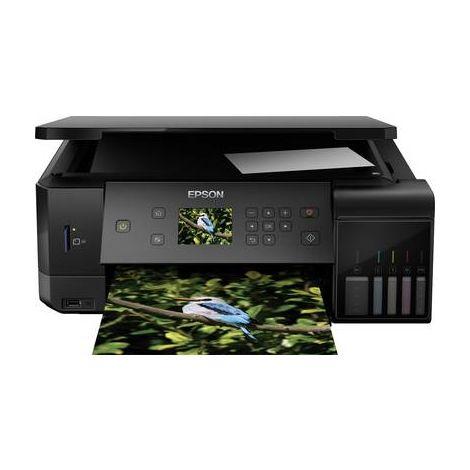 Epson EcoTank ET-7700 Imprimante multifonction à jet dencre couleur A4 imprimante, scanner, photocopieur réseau, Wi-Fi, recto-verso, système à réservoir dencre