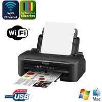 EPSON Imprimante WorkForce WF-2010W - jet d'encre 4 couleurs - Ethernet + Wi-Fi - Interface USB2.0