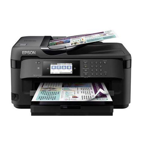 Epson WorkForce WF-7710DWF Imprimante multifonction à jet dencre couleur A3 imprimante, scanner, photocopieur, fax USB, réseau, Wi-Fi, NFC, recto-verso,