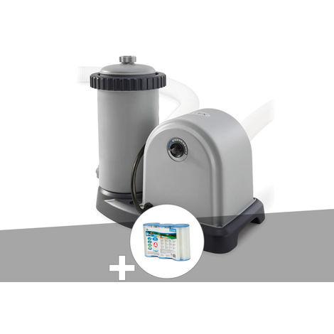 Epurateur à cartouche Intex 4,4 m³/h + 6 cartouches A