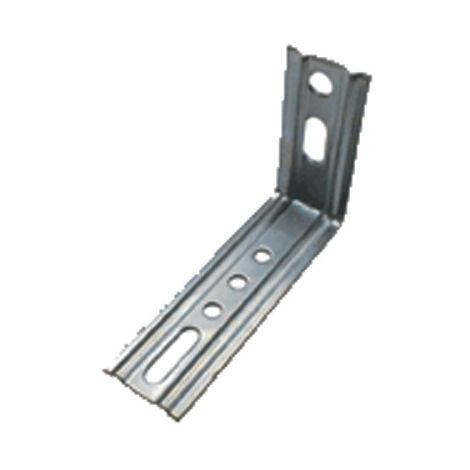 """main image of """"Équerre 2 pans de menuiserie bois acier galva WAELBERS - 60 x 65 mm - 470301.13"""""""