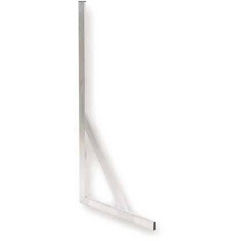 Équerre aluminium à talon 60x120 cm - Mob/Mondelin