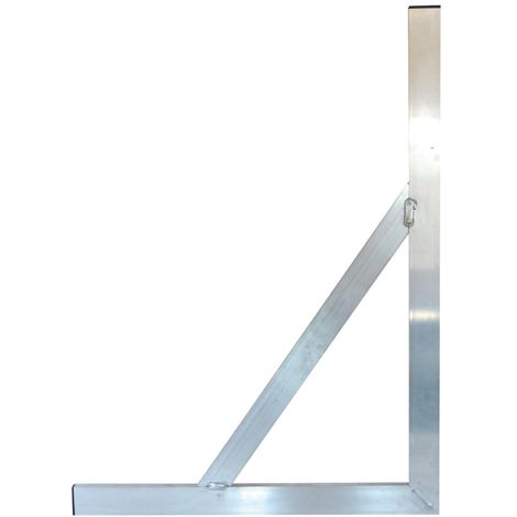 Équerre aluminium soudée 100x60 Cm - Mob/Mondelin