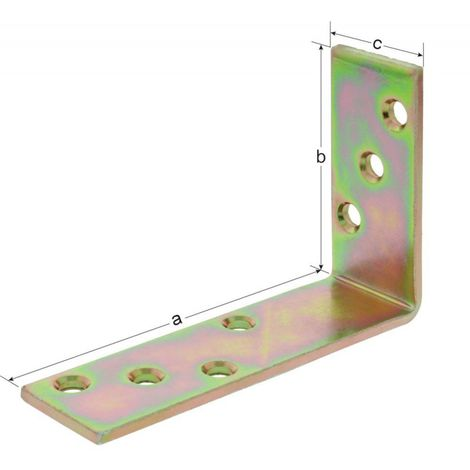 Equerre d'angle K2 150x75x40x5 mm