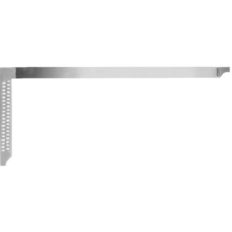 Equerre de charpentier avec trous L.700mm