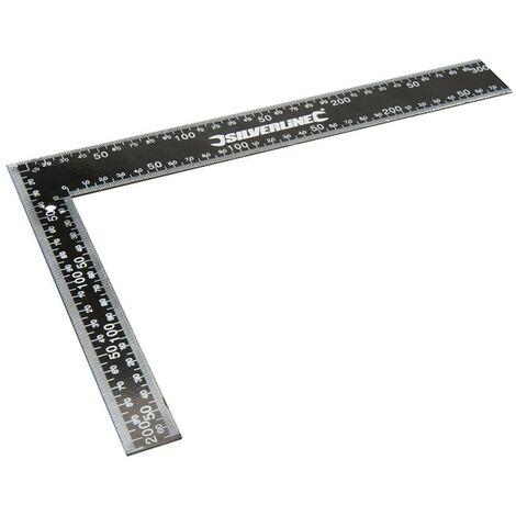 Équerre de charpentier en acier - 300 x 200 mm
