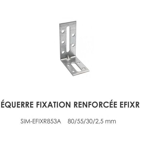 Equerre de fixation avec renfort EFIXR Simpson