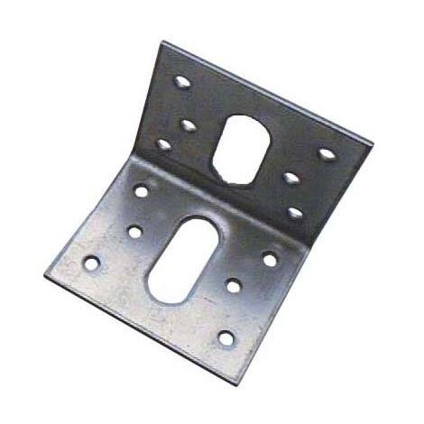 Équerre de fixation galvanisé 50x50x57mm Ep. 2 mm