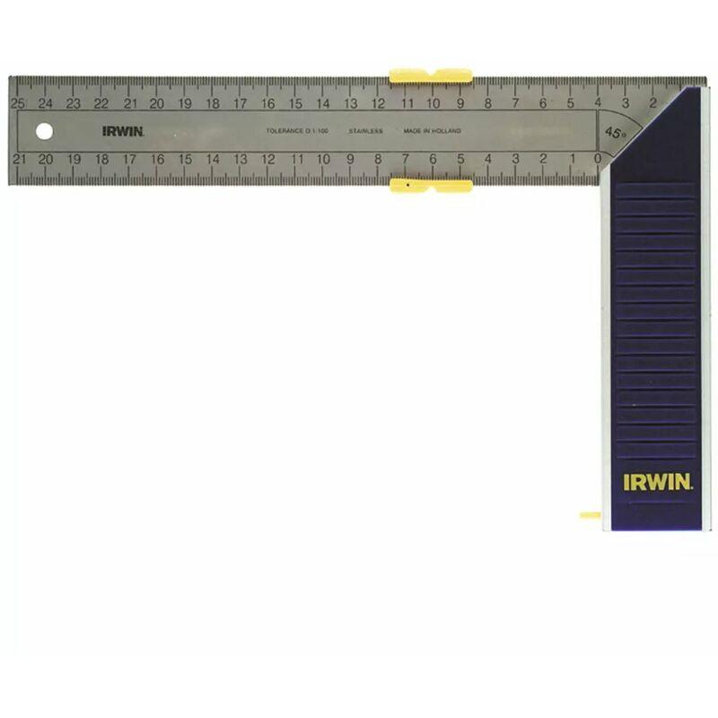 Équerre de charpentier en alliage d/'aluminium 185 mm