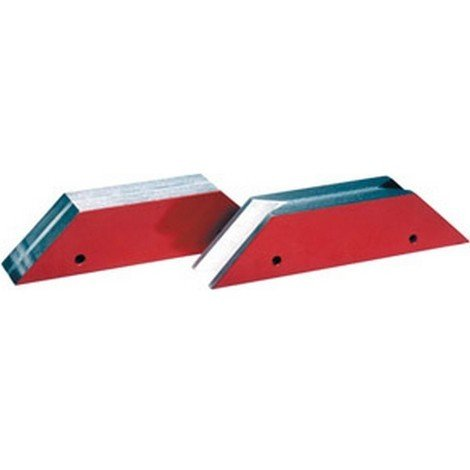 Equerre d'onglet à aimants permanents, Modèle : plat, Long. 170 mm, Larg. : 35 mm, Hauteur : 40 mm, Prisme N : -, Force de maintien : 250 N