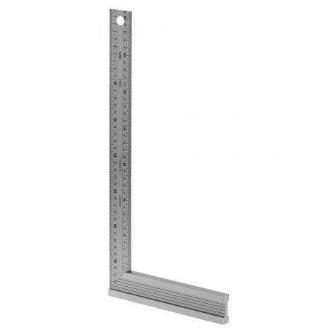 EQUERRE DROITE ONGLET INOX 200MM