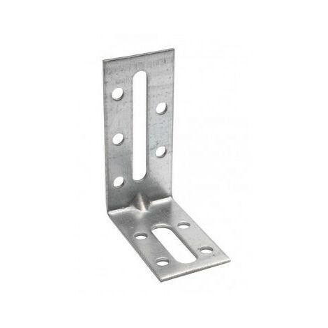 Equerre fixation simple et renforcée (100 pièces) - Différentes dimensions disponibles