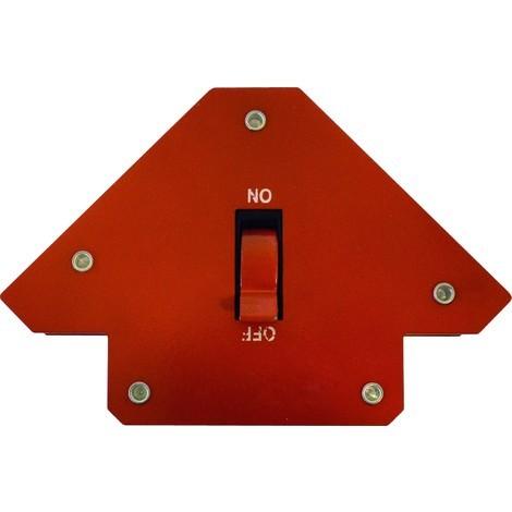 Equerre magnétique avec interrupteur M/A - 114mm
