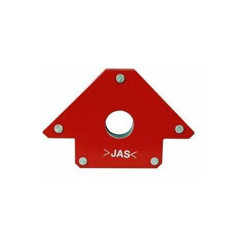 Équerre magnétique de soudure 100x92 mm pour angle 45°, 90° et 135°