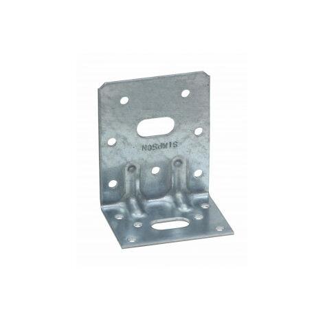 Équerre mixte renforcée SIMPSON - A150xB50xC75x3mm - E19/3
