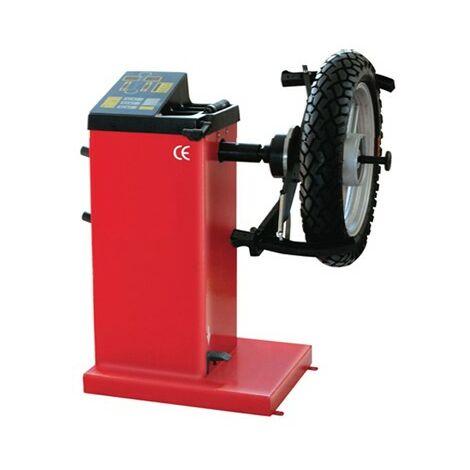 Equilibradora de ruedas de moto