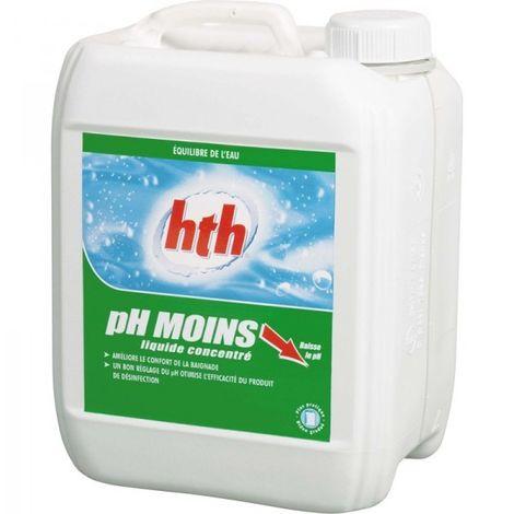 Equilibre de l'eau HTH - pH moins - Liquide 20L - L800827H1