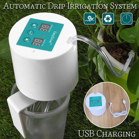 Équipement d'arrosage de jardin d'arroseur à la maison micro de système d'irrigation goutte à goutte automatique 02 Type1 avec USB