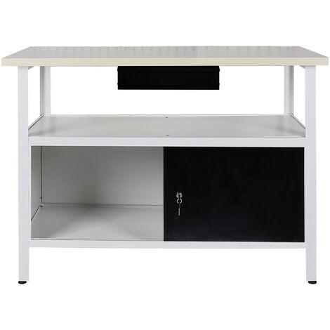 quipement d 39 atelier tabli armoire chariot table de. Black Bedroom Furniture Sets. Home Design Ideas