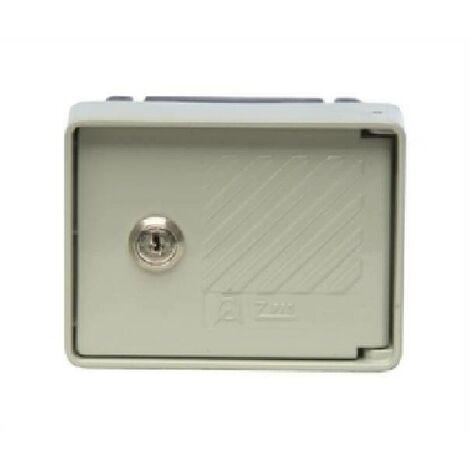 Equipement de boîtier de porte avec installation a blinded close installation 2057/gm