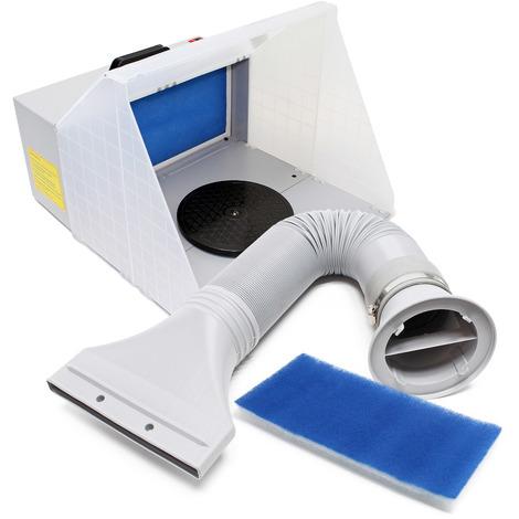 Equipo aspiración aerografía 3m³/min Set completo para succión neblina de rociado con aire exterior