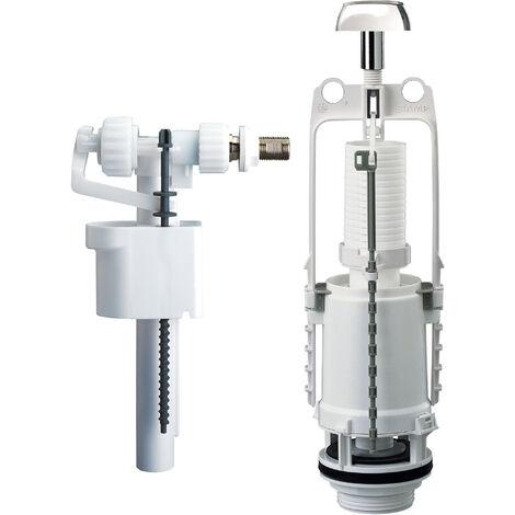 equipo de cisterna completo con pulsador de estribo