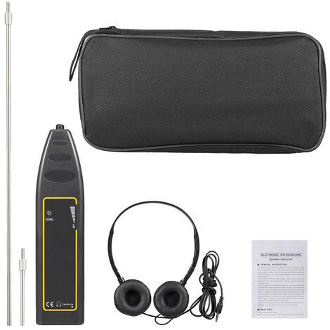 Equipo de deteccion auricular de 100 Hz ~ 10 kHz auto del detector de escape del coche del tubo de agua Estetoscopio electronico