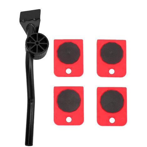 Equipo de movimiento de muebles pesados, sistema de movimiento de elevador de rodillo de dispositivo Easy Mover