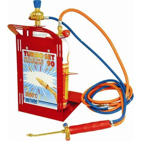 Equipo de soldadura con regulador Professional - TEMPERATURA HASTA 3050ºC- Oxy Turbo®