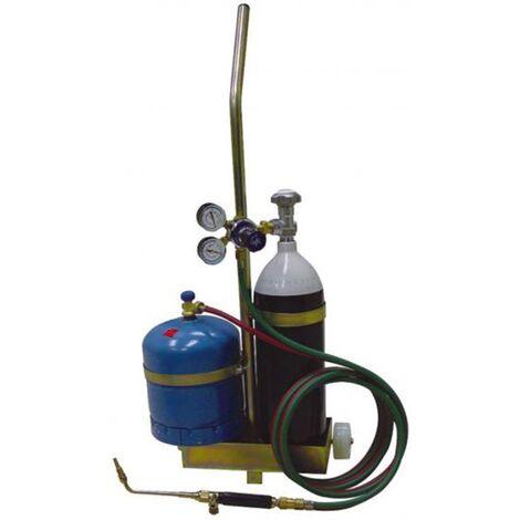 Equipo portátil oxi-butano (2,8kg) para soldaduras autógenas