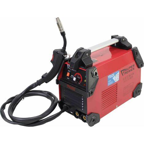 Equipo Soldadura Inverter Electrodos Hilo Flujado 140A -SPW-