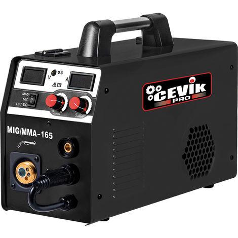 Equipo soldar inverter Cevik CE-Promig165 C/Accesorios