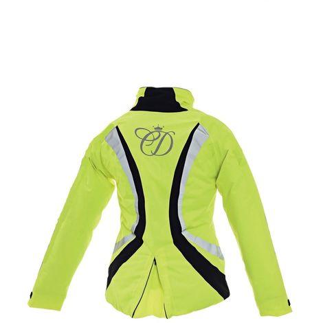 Equisafety Childrens/Kids Charlotte Dujardin Volte Waterproof Jacket II (One Size) (Yellow)