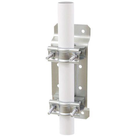 erard 800880 | fixation polyvalente / tube d.25 a 50 - zinc blanc