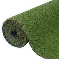 Erba Artificiale 1x15 m/20-25 mm Verde