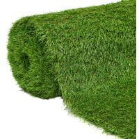 Erba Artificiale 1x15 m/40 mm Verde