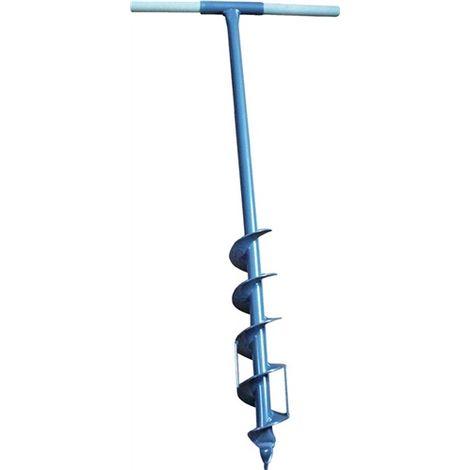 Erdlochbohrer Gesamtlänge 105cm Durchmesser 70mm