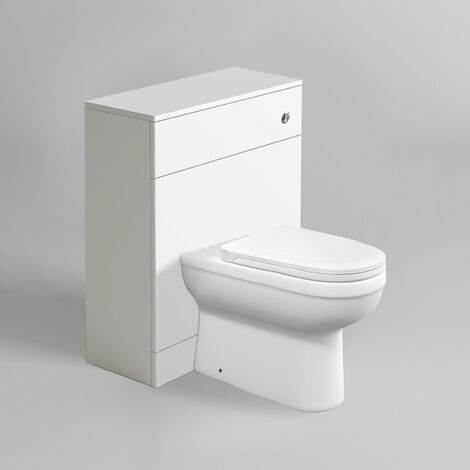 Erela Back To Wall Rimless WC Toilet Unit + Soft Close Seat
