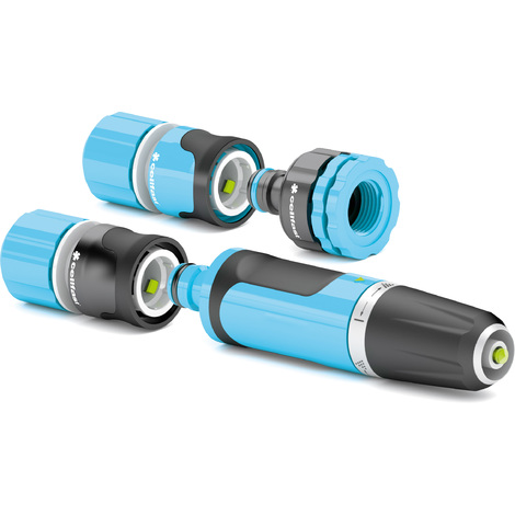"""ERGO set with adjustable hose nozzle 1/2"""""""