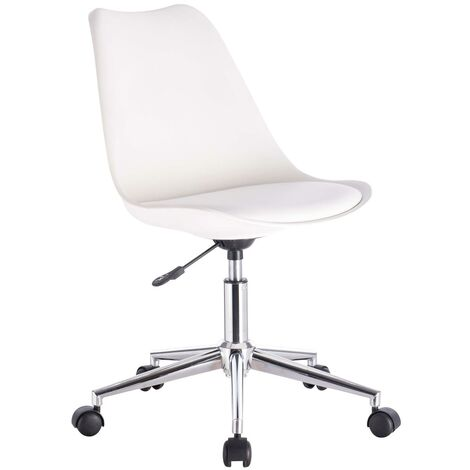 """main image of """"Ergonomic Adjustable White Office Chair Executive Swivel Computer Desk Chair"""""""