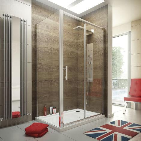 Ergonomic Designs 1400 X 800 Sliding Door Shower Enclosure