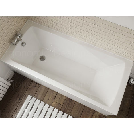 Ergonomic Designs 1700 X 700 Standard Acrylic Bath 0th