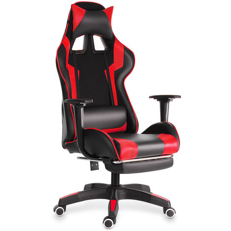 """main image of """"Ergonomic Gaming Chair Swivel Recliner Leather Desk Seat"""""""