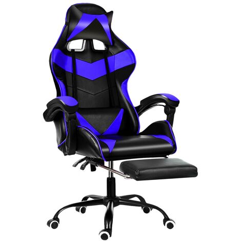"""main image of """"Ergonomic Gaming Computer Chair Swivel Office Chair Recliner Leather Desk Seat"""""""