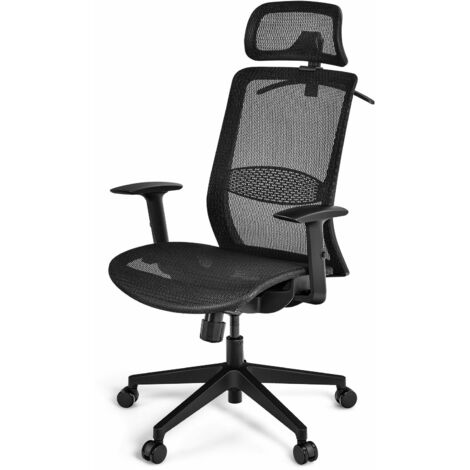 """main image of """"Ergonomic Mesh Office Chair Rolling Executive Chair w/ Adjustable Lumbar Support"""""""