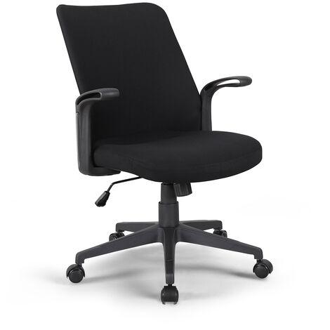 Ergonomischer Bequemer Sessel für Klassischen Bürostuhl aus Stoff Assen