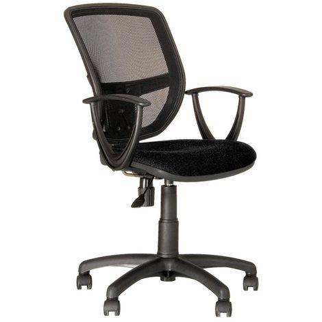 Ergonomischer Büro Dreh Stuhl Arbeitsplatz Bestuhlung Gaslift schwarz Nowy Styl GTP